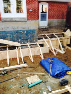 Lower the Basement Floor with Bench-Footing Method