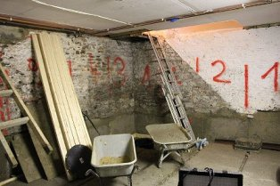 Lowering Basement Floor with Underpinning