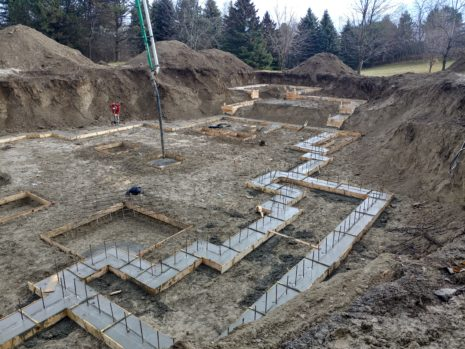 Concrete Contractor for Building New Footing and Foundations